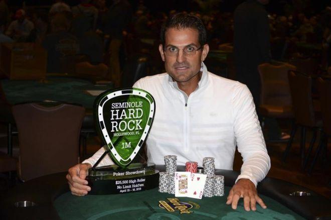 Brandon Adams Wins Seminole Hard Rock Poker Showdown