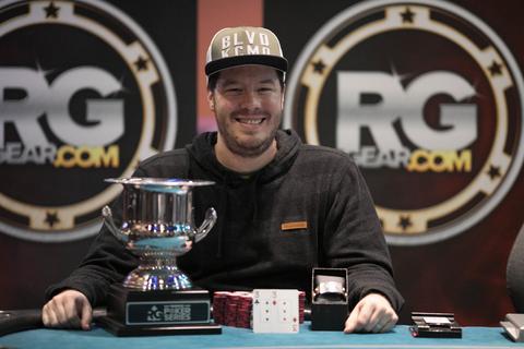 Grant Hinkle wins RunGood Downstream Main Event
