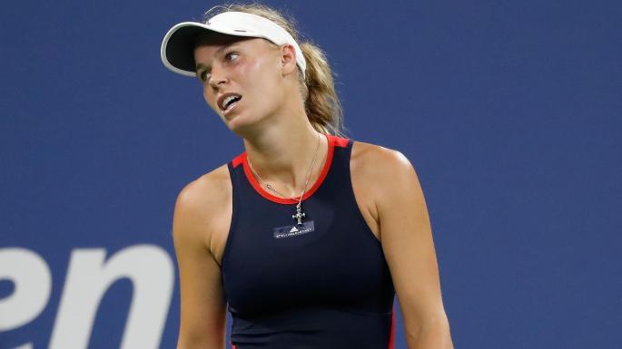 Caroline Wozniacki ousted from 2018 US Open