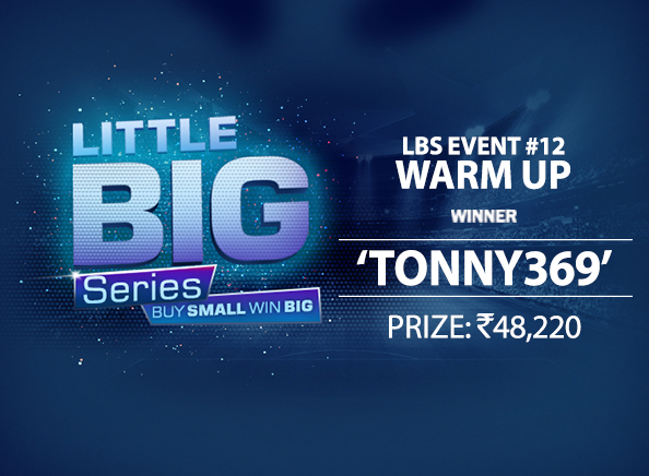 'Tonny369' ships Warm Up at Little Big Series