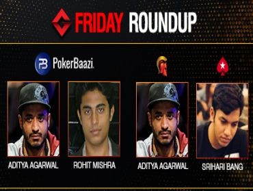 Friday Roundup: Aditya Agarwal bags two titles last night!