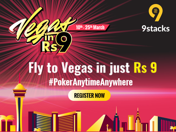 9stacks Vegas in Rs. 9 takes off on 10th March
