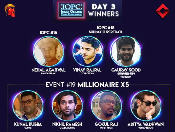 10 winners crowned on IOPC Day 3