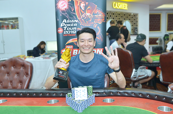 APT Vietnam Vincent Li wins High Rollers; Chutani 6th
