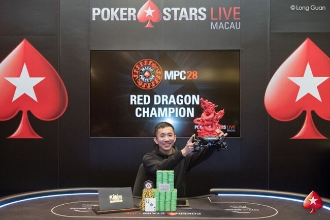 Alvan Zheng Macau Poker Cup