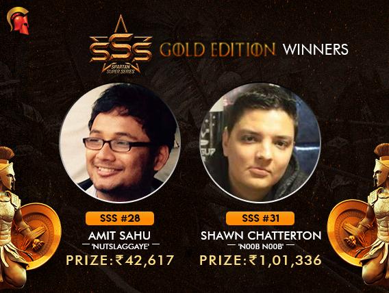 Amit Sahu and Shawn Chatterton