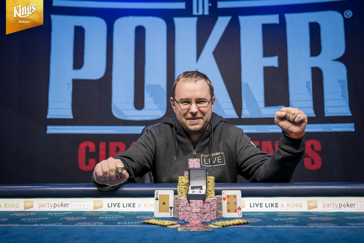 Andrei Makavets triumphs WSOPC Mini Main Event