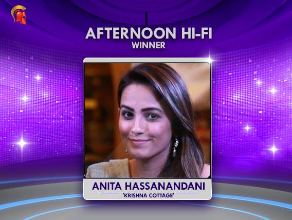 Anita Hassanandani scores a win in Spartans Daily Hi-Fi