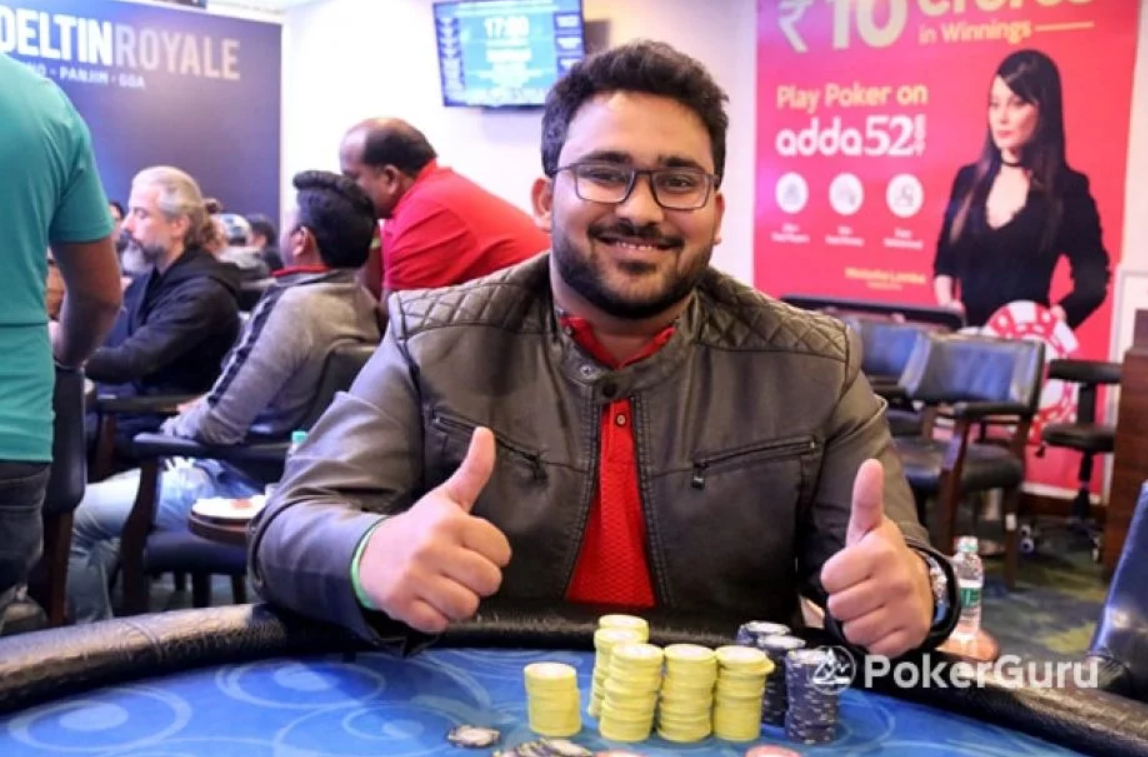Anuj Laddhad bags lead in DPT Xpress Main Event Day 1