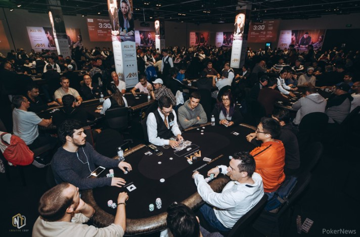 Aussie Millions Opening Event: Lowrie leads 66 players to Day 2