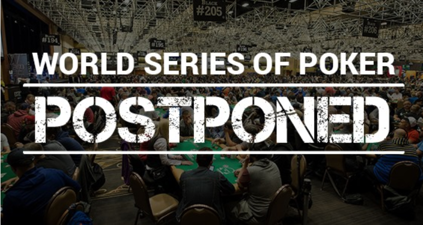The 51st annual World Series Of Poker postpones to Fall