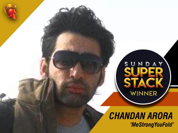 Chandan Arora takes down Sunday SuperStack on Spartan