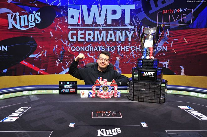 Christopher Puetz takes down WPT Germany Main Event!