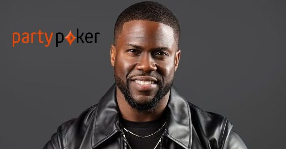 Comedian Kevin Hart signed by partypoker!