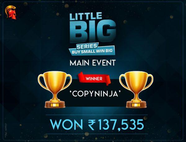 CopyNinja LBS Main Event