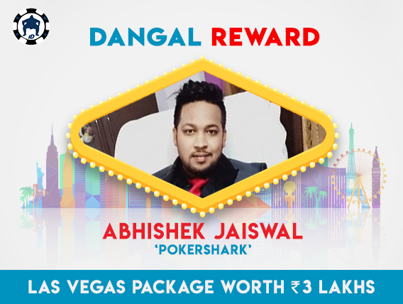 Dangal Reward Fest: Jaiswal wins trip to Vegas!