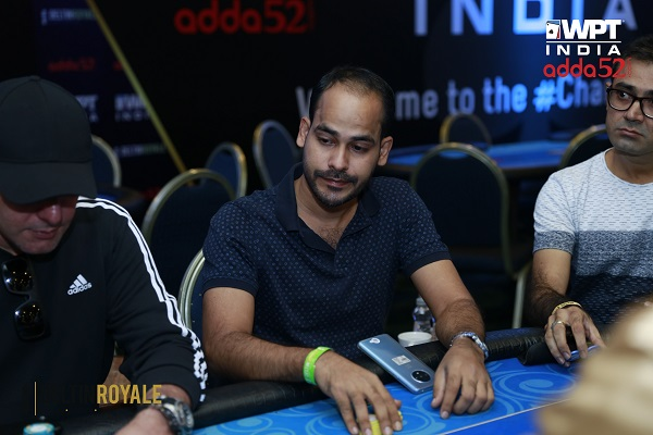 Debashis Bal leads 29 in WPT India 35k SuperStack