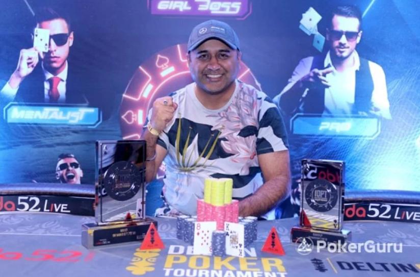 Deepak Raina is the latest DPT Xpress Main Event Champion!