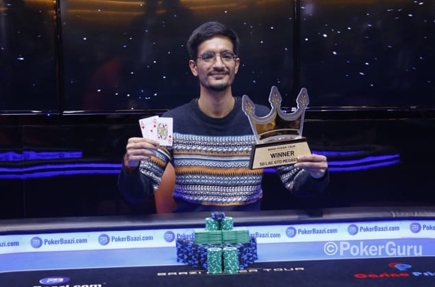 Devang Yadav takes down BPT MegaStack for INR 12.65 Lakhs!