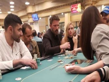Drunken Ben Affleck books profit at Casino Commerce