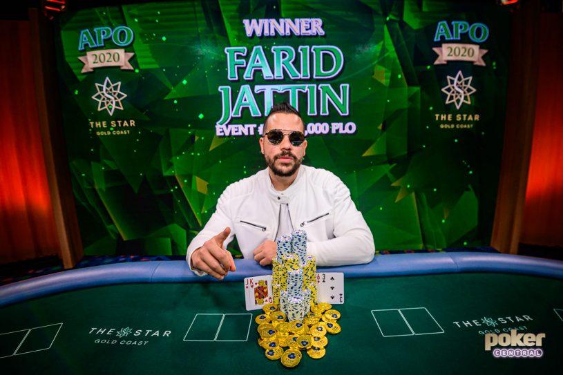 Farid Jattin wins latest Australian Poker Open
