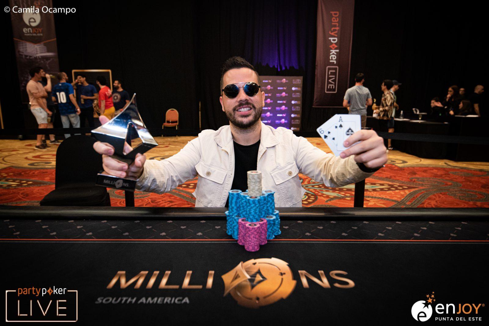 Farid Jattin wins partypoker MILLIONS South America High Roller!