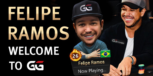 Felipe Ramos signs as GGPoker Brand Ambassador