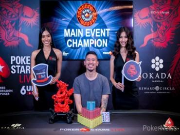 Florencio Campomanes wins Red Dragon Manila Main Event!