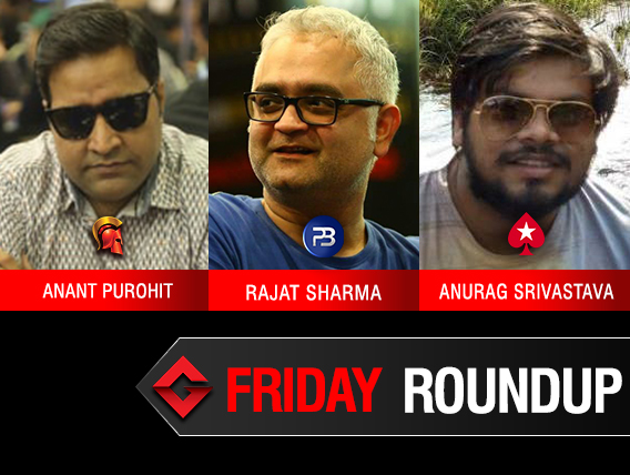 Friday Roundup: Anurag Srivastava gets yet another title