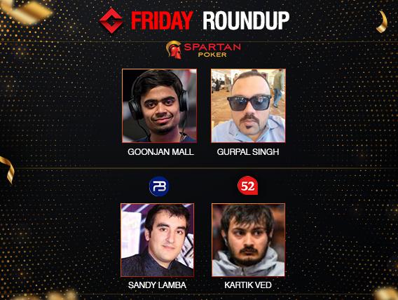 Friday Roundup Goonjan Mall wins Elite, Kartik Ved wins Ballers