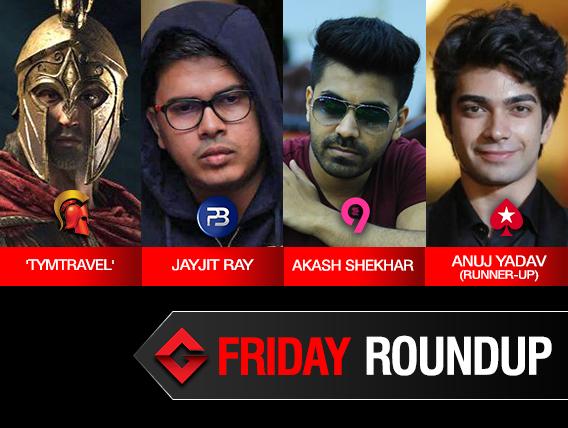 Friday Roundup: Jayjit Ray, Akash Shekhar win features