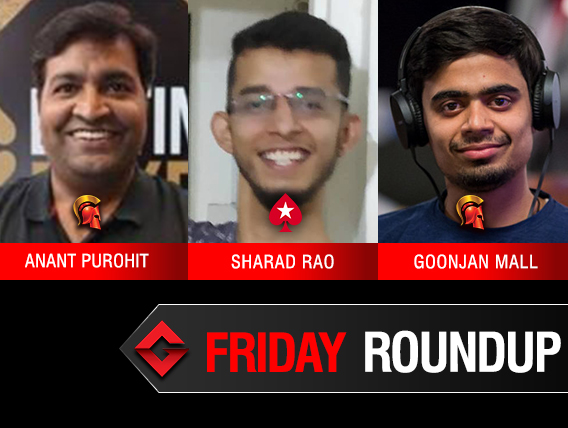 Friday Roundup: Purohit, Mall, Rao victorious online!