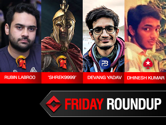 Friday Roundup: Rubin Labroo takes down TGIF on Spartan