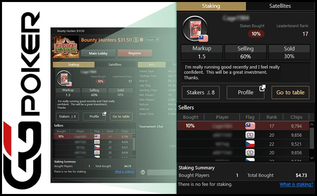 GGPoker adds innovative staking feature to its platform