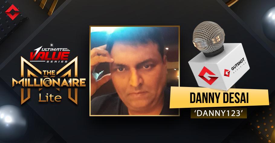 Danny Desai on his latest UVS Millionaire Lite victory