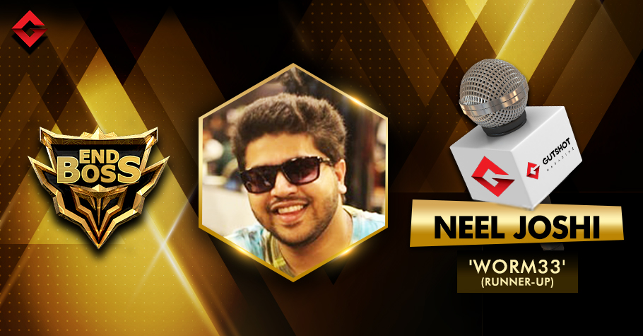 One-on-One with End Boss Runner-up Neel Joshi