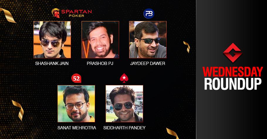 Wednesday Roundup: Shashank Jain captures second title!