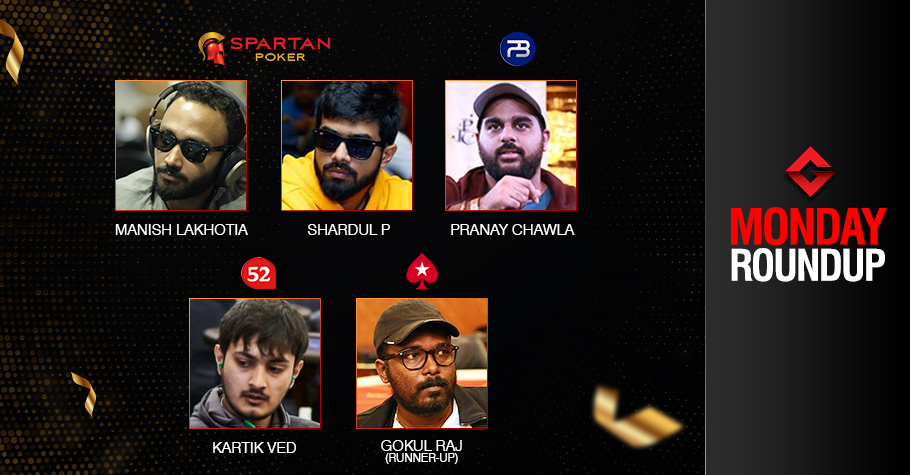 Monday Roundup: Lakhotia, Parthasarathi, Chawla, Ved win big
