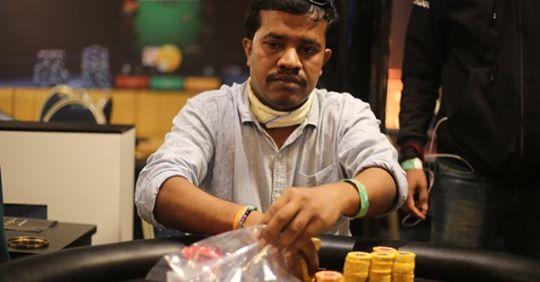 Gangadhar Raaj leads Day 1 of BPT 15k Big Bounty