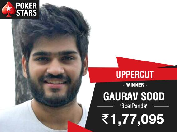 Gaurav Sood Uppercut Poker Star