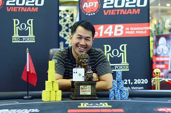 Harry Duong wins APT Vietnam Kickoff Championships Event!