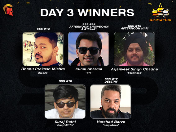 Harshad Barve wins Destiny Kunal Sharma wins 2 titles