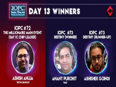 IOPC Day 13: Anant Purohit triumphs in Destiny last night