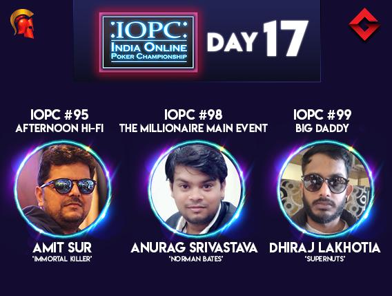 IOPC Day 17 Lakhotia and Srivastava among title winners