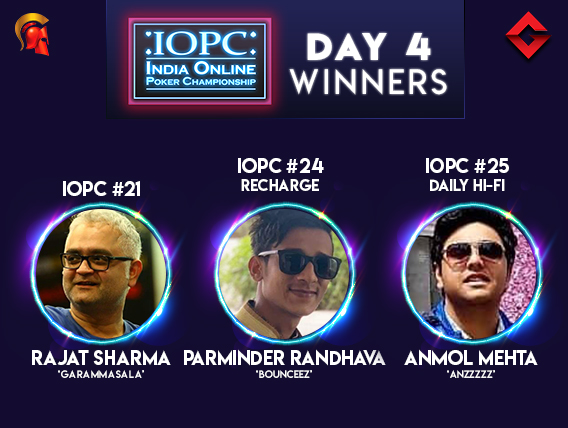 IOPC Day 4: Sharma, Randhava, Mehta claim the day!