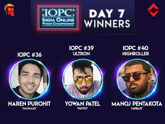 IOPC Day 7 Pentakota wins HR; Patel takes down Ultron