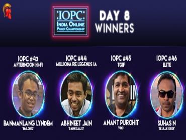 IOPC Day 8: Suhas N wins IOPC Elite; other winners crowned