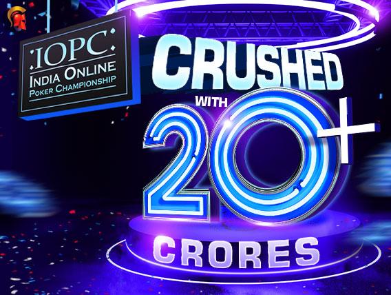 IOPC Jan 2020 a smashing success; 20+ Cr given away!