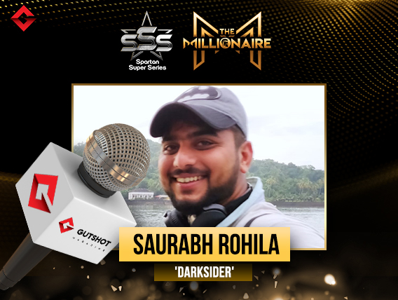 In conversation with the latest SSS Millionaire, Saurabh Rohila!