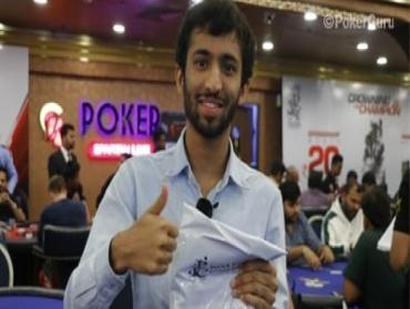 Joey Saha leads 58 players from Day 1B of IPC Main Event